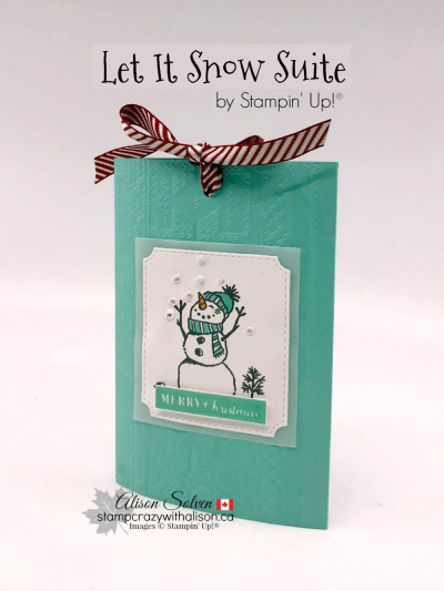 Let It Snow Suite Hot Chocolate Pouch www.stampcrazywithalison.com