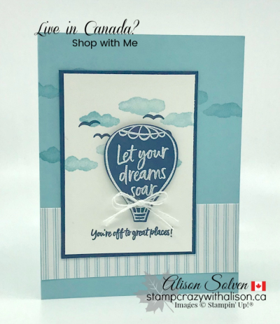 Above the Clouds Bundle www.stampcrazywithalison.ca