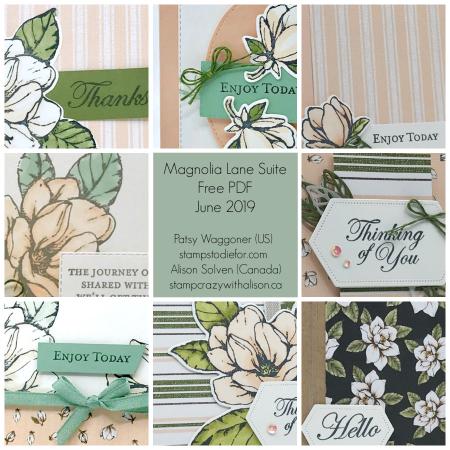Magnolia Lane Bundle Collage