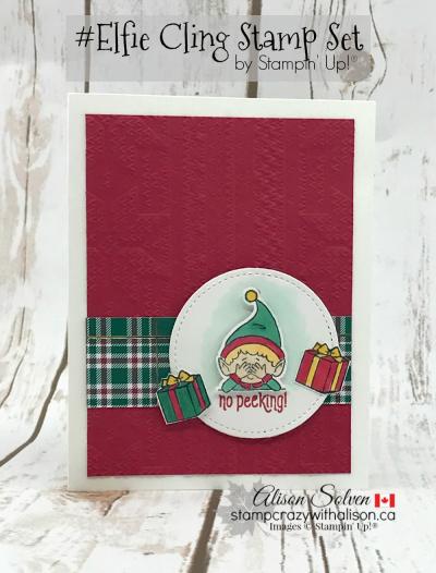 Elfie Cling Stamp Set www.stampcrazywithalison.com-2