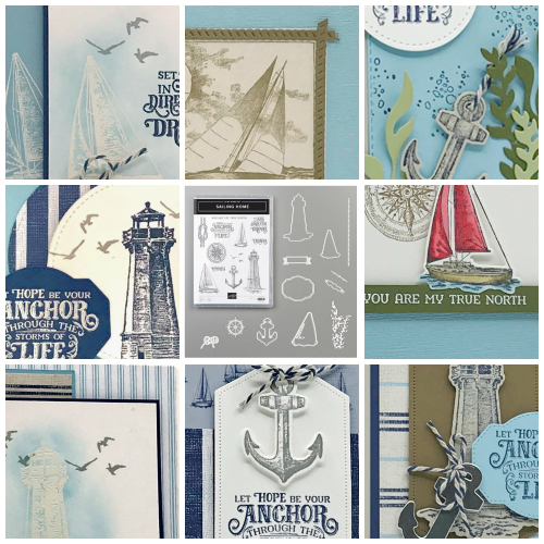 Come Sail Away Suite PDF Collage