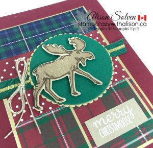 Merry Moose Stamp Set www.stampcrazywithalison.com
