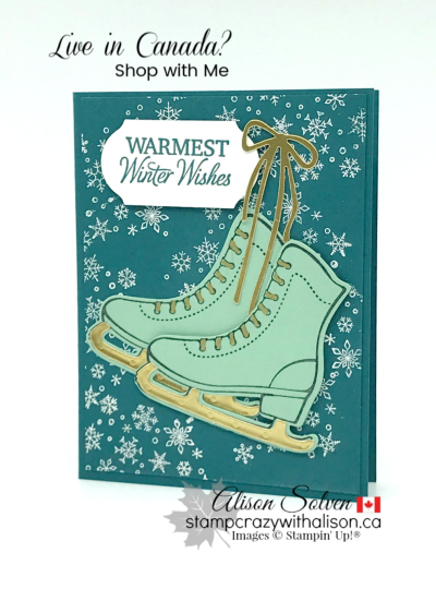 Just in Case Free Skate Cling Stamp Set www.stampcrazywithalison.com