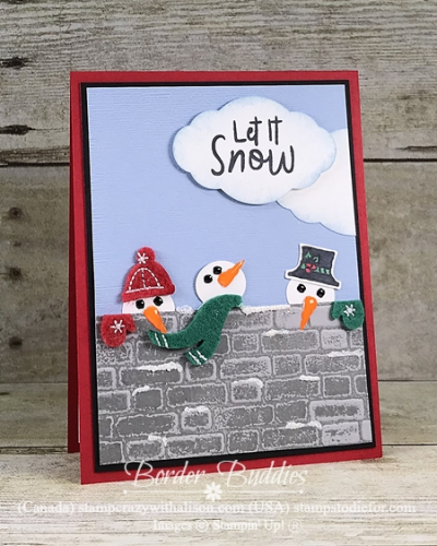 Let it Snow - Snowmen on a Wall