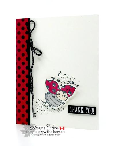 Little Ladybug Host Set www.stampcrazywithalison.com