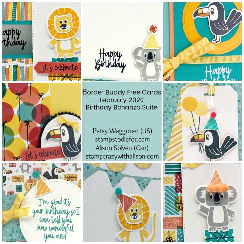 Birthday Bonanza Suite Collage February 2020