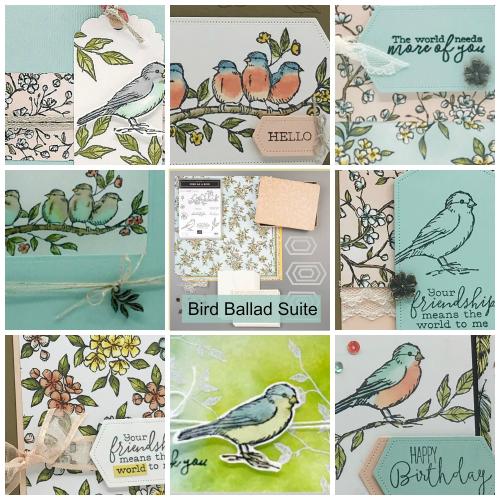 Bird Ballad Collage Tutorial Page