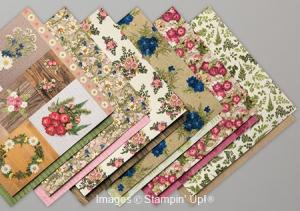 Pressed Petals Designer Series Paper by Stampin' Up!