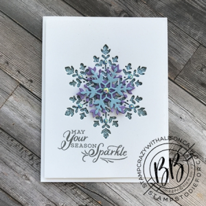 Snowflake Wishes stamp set from the Snowflake Splendor Suite of products by Stampin' Up!