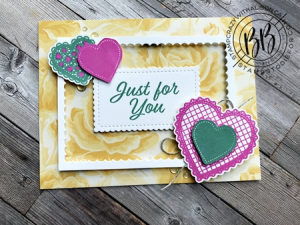 Just in CASE pg 74 Annual Catalog featuring the Heartfelt Stamp Set by Stampin' Up!