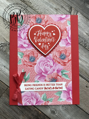 Sunday Sketches card sketches by Border Buddy's Alison Solven and Patsy Waggoner of products by Stampin' Up! Heartfelt stamp set
