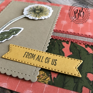 Card created using Garden Wishes stamp set by Stampin' Up! 3