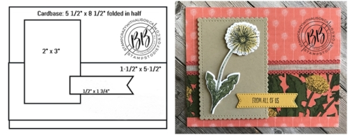 Card created using Garden Wishes stamp set by Stampin' Up! 4