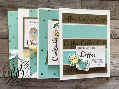 August 2020 Take and Make Nothing Better Than stamp set by Stampin' Up!®