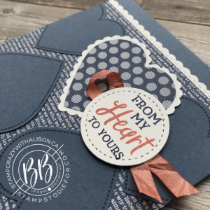 A card CASE from page 75 using the Heartfelt stamp set by Stampin' Up!® 2