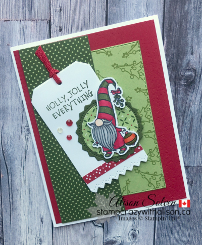 Gnome for the Holidays Stamp Set www.stampcrazywithalison.com-12