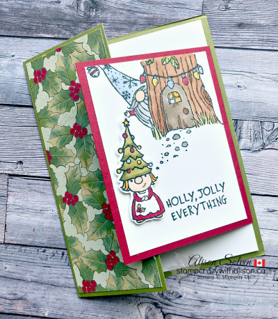 Gnome for the Holidays www.stampcrazywithalison.com-2