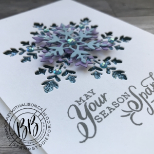 Snowflake Wishes stamp set from the Snowflake Splendor Suite of products by Stampin' Up! 3