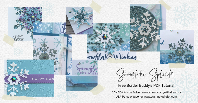 Snowflake Spendlor Suite November BB PDF Tutorial