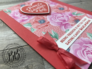 Sunday Sketches card sketches by Border Buddy's Alison Solven and Patsy Waggoner of products by Stampin' Up! Heartfelt stamp set ribbon