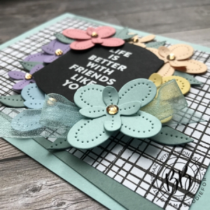 Just in CASE (copy and selectively edit) series card using the Flowers of Friendship stamp set and Pierced Blooms & Tateful Labels Dies by Stampin' Up! (3)