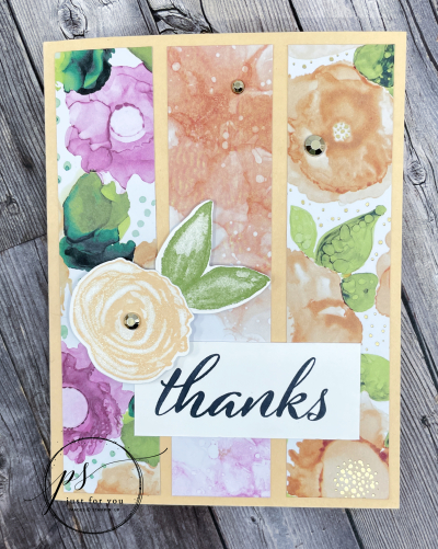 Project Sheet July 21 Expressions in Ink Alison Solven