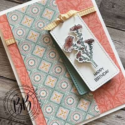 Border Buddy Sunday Sketch Card Series featuring the Nature's Harvest stamp set by Stampin' Up! (2)