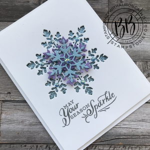 Snowflake Wishes stamp set from the Snowflake Splendor Suite of products by Stampin' Up! 2