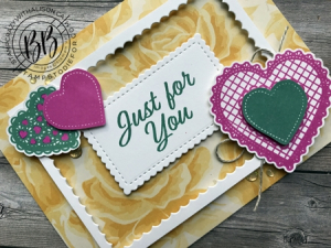 Just in CASE pg 74 Annual Catalog featuring the Heartfelt Stamp Set by Stampin' Up! 1