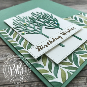 Winter Woods Stamp Set by Stampin' Up! Birthday Card 3