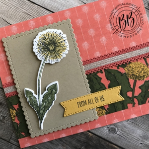 Card created using Garden Wishes stamp set by Stampin' Up! 2