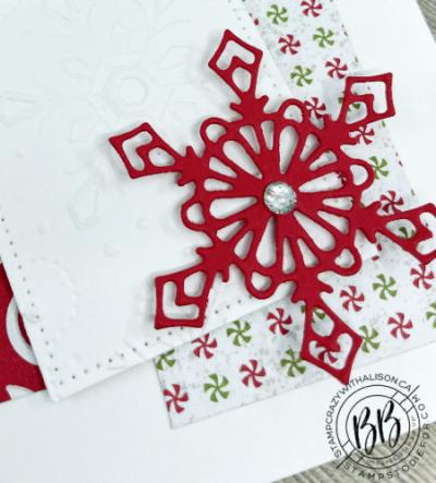 Gingerbread & peppermint sketch card-3